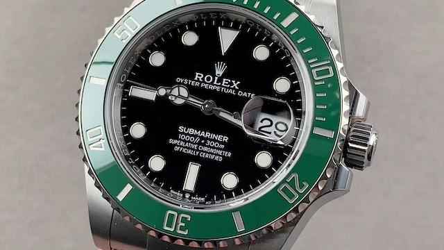 """Rolex Submariner """"Kermit"""" Ceramic 126610LV"""