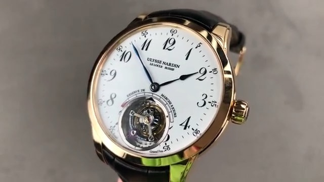 Ulysse Nardin Anchor Tourbillon 1786 133 Ulysse Nardin Watch Review