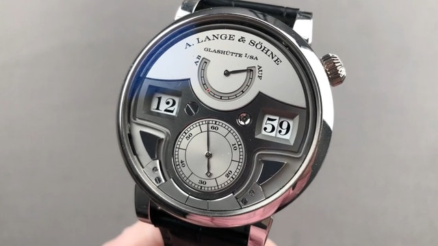 A. Lange & Sohne Zeitwerk Minute Repeater 147.025F Review