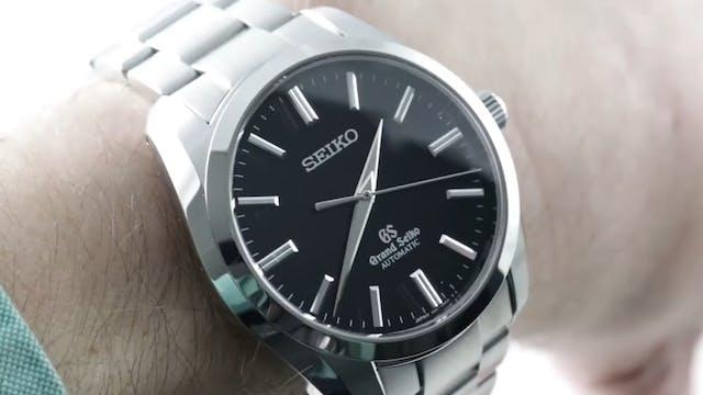 Grand Seiko Automatic No-Date SBGR101...