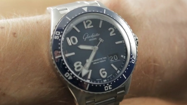 2019 Glashutte Original SeaQ Panorama Date 1-36-13-02-81-70 Dive Watch Review