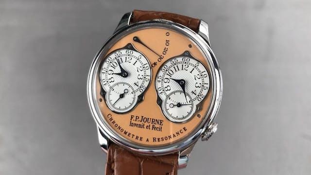 F.P. Journe Platinum Chronometre Reso...