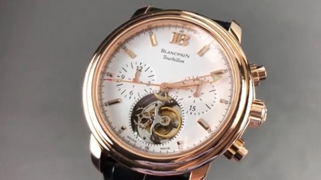 Blancpain Leman Tourbillon Chronograph 2188F 3618 53 Blancpain Watch Review