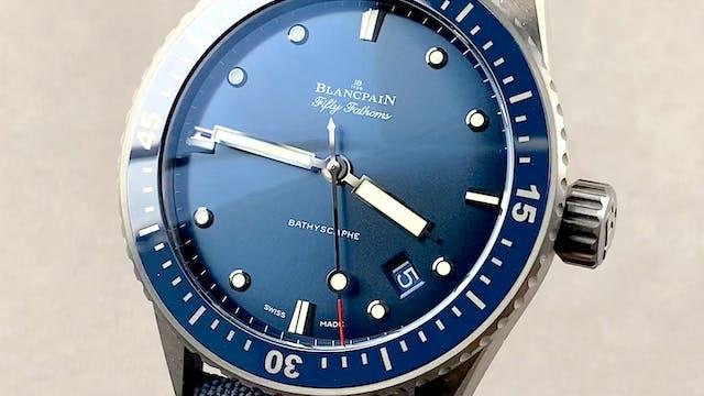 Blancpain Fifty Fathoms Bathyscaphe 5...