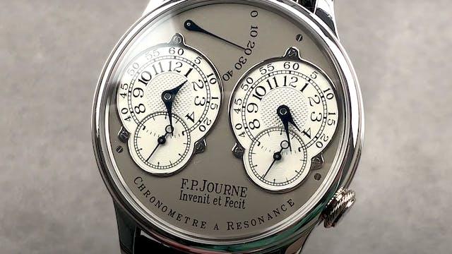 F.P. Journe Chronometre a Resonance 38mm