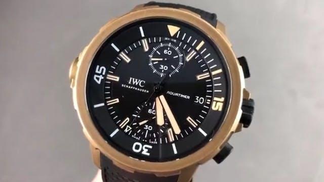 "IWC Aquatimer Bronze Chronograph ""Edi..."