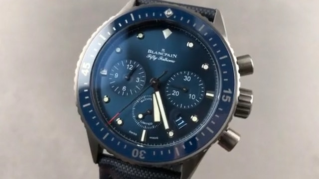 Blancpain Fifty Fathoms Bathyscaphe Flyback Chronograph 5200-0240-52A Review