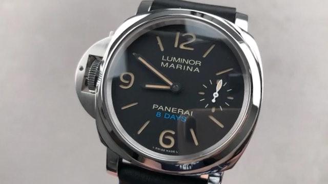 "Panerai Luminor Marina ""Destro"" Left Handed 8 Days PAM 796 Panerai Watch Review"
