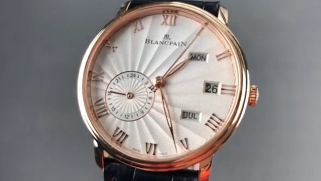 Blancpain Villeret Annual Calendar GMT 6670 3642 55B Blancpain Watch Review