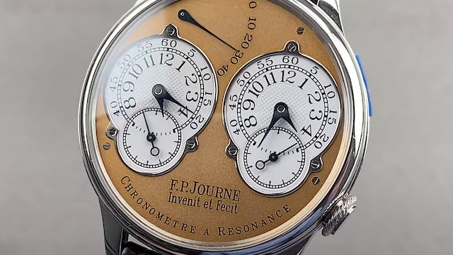 F.P. Journe Chronometre a Resonance 38mm