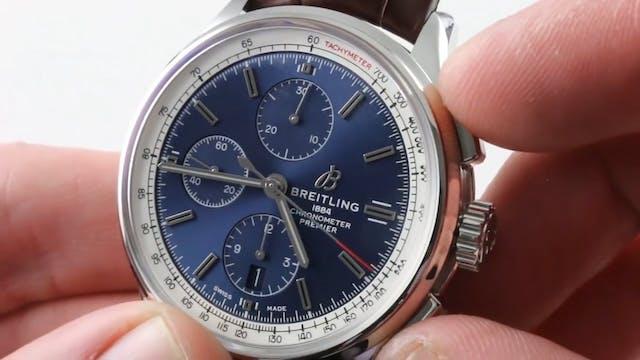 2018 Breitling Premier Chronograph 42...