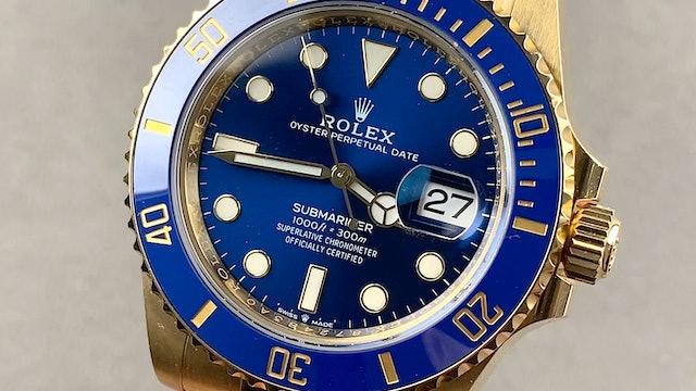 Rolex Submariner Date 126618LB