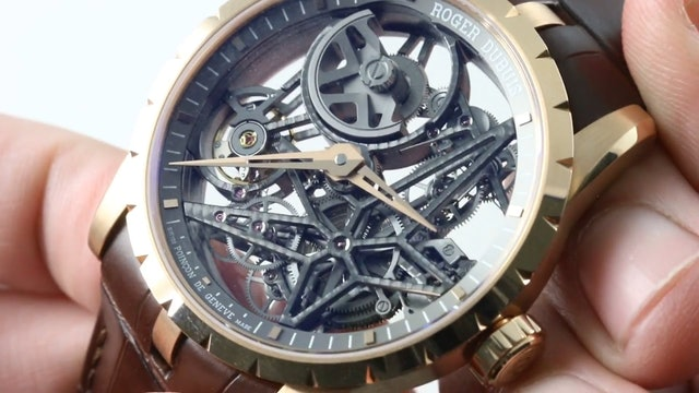 Roger Dubuis Excalibur Skeleton Automatic Rddbex0422 Review