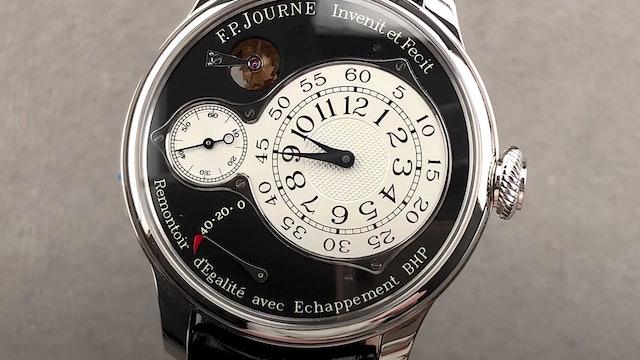 F.P. Journe Chronometre Optimum Black Label