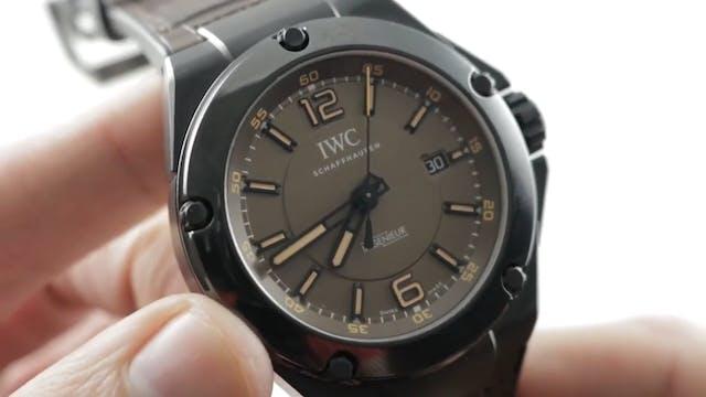 IWC Ingenieur Amg Black Series Cerami...