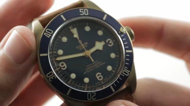 "Tudor Heritage Black Bay Bronze ""Blue..."
