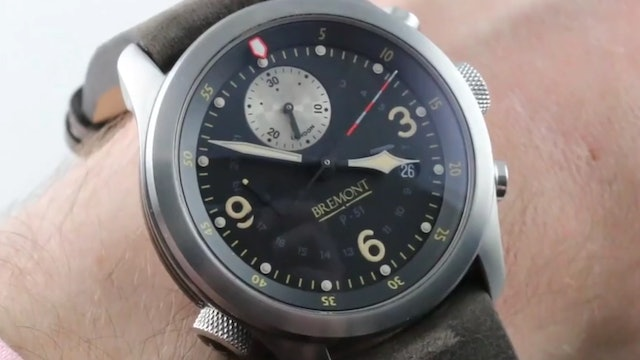 Bremont P 51Mustang Wwii K 10 1944 GMT Chronograph Limited Edition P 5 Review