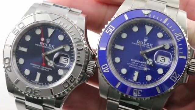 Rolex Submariner vs Rolex Yacht Maste...