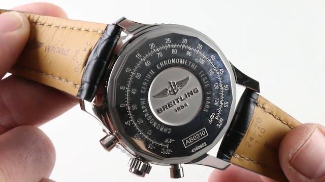 Breitling Navitimer Rattrapante AB031...