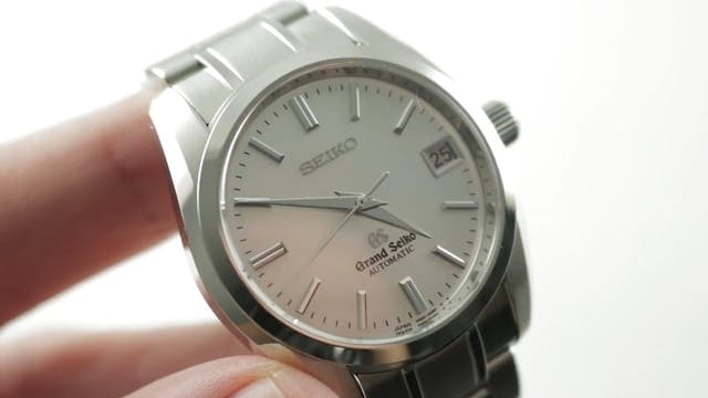Grand Seiko Automatic SBGR051 Review