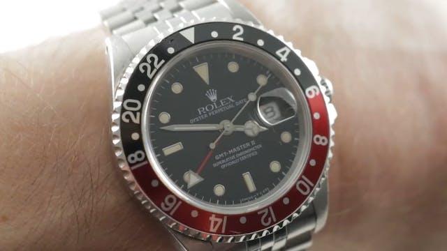 """Rolex GMT Master II """"Coke"""" (16710) Vi..."""