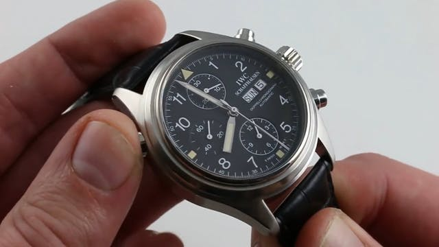 IWC Pilot Spitfire Doppelchronograph ...