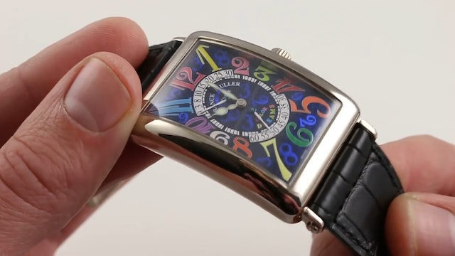 Franck Muller Color Dreams Limited Edition 1100 Ds R Review