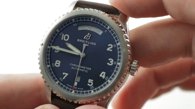 Breitling Aviator 8 Day Date (A453301...