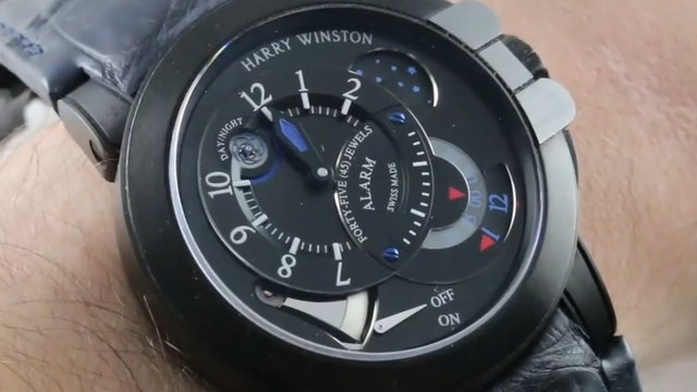 Harry Winston Ocean Project Z6 Alarm Watch Limited Edition (400-MMAC44ZK) Review