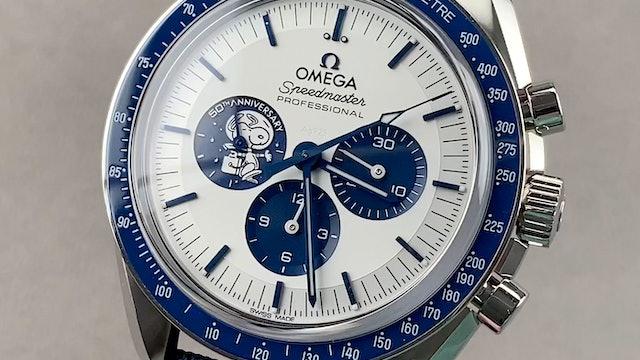 "Omega Speedmaster Chronograph Anniversary Series ""Silver Snoopy Award"""