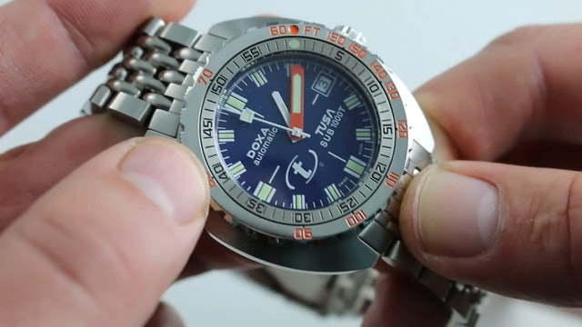 Doxa Tusa 30th Anniversary Sub 1000T Limited Edition Watch Review