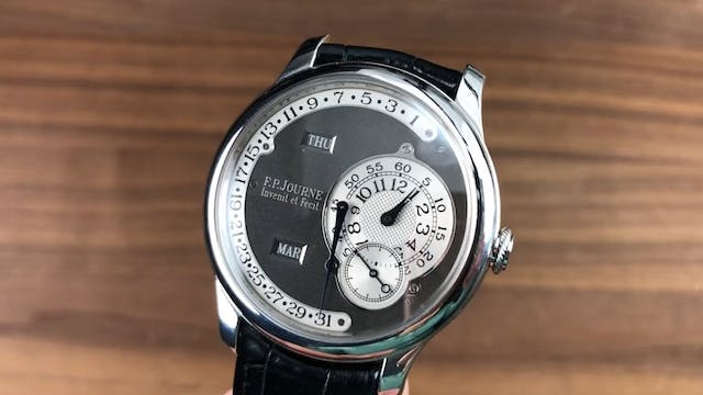 F.P. Journe Octa Calendrier Ruthenium...