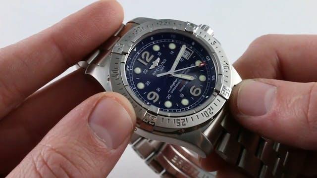 Breitling Superocean Steelfish A17390...