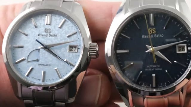 Grand Seiko Spring Drive vs Hi Beat: ...
