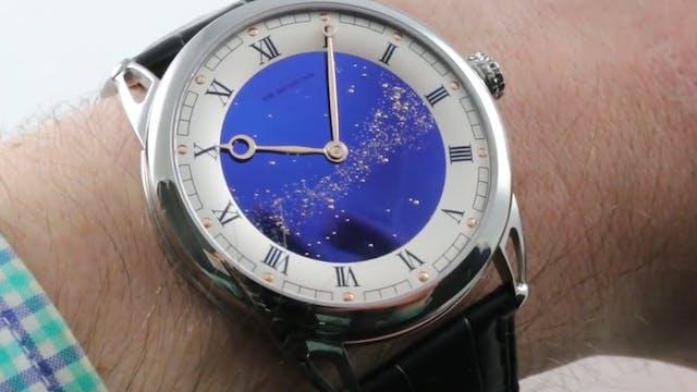 De Bethune DB25 Starry Varius Blued T...