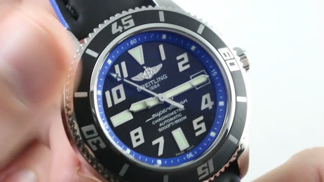 Breitling Superocean Abyss A1736402 B...