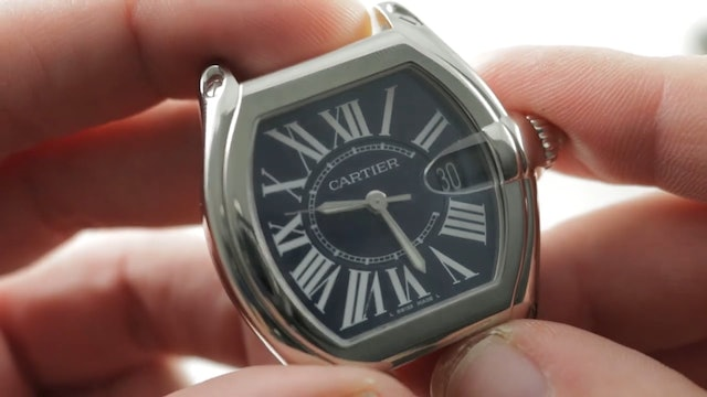 Cartier Roadster XL Usa 100th Anniversary (W6206012) Review