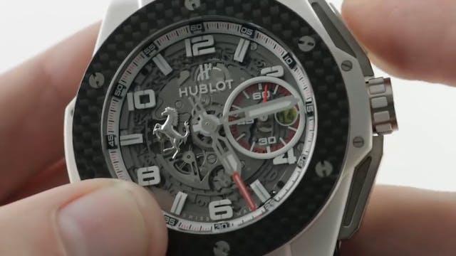 Hublot Big Bang Unico Ferrari White C...