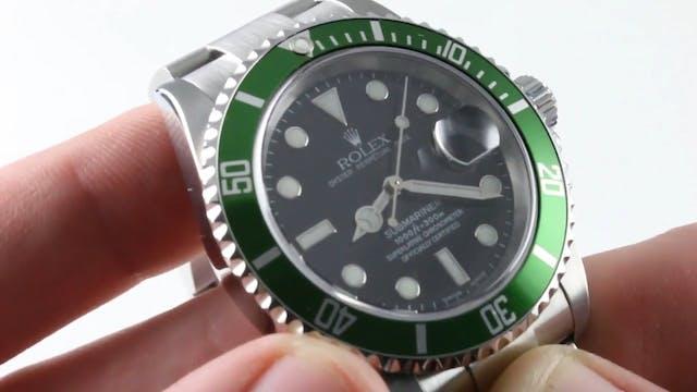 "Rolex Submariner ""Kermit"" 16610LV Mar..."