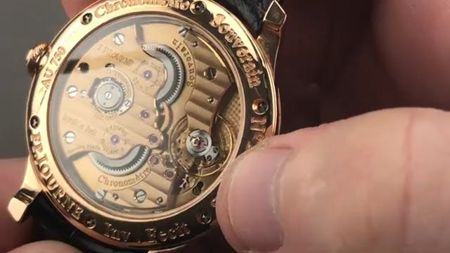 F.P. Journe Chronometre Souverain Bou...