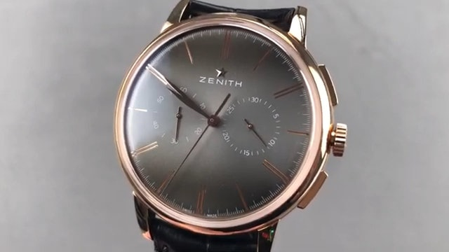 Zenith Elite Chronograph Classic (El Primero) 18.2270.4069/18.C498 Review