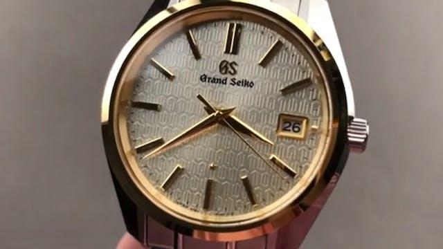 Grand Seiko 9F 25th Anniversary Sbgv2...