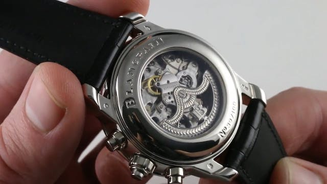 Blancpain Le Brassus Split Second Fly...