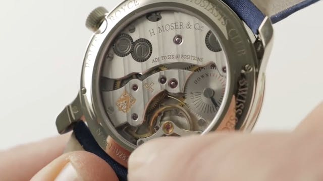 H. Moser Cie Endeavour Small Seconds ...