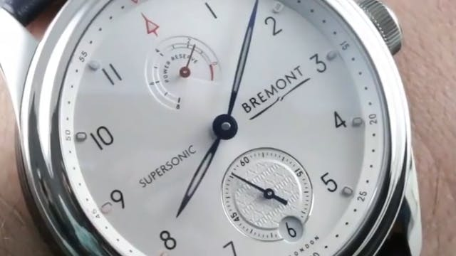 Bremont Supersonic (Concorde) Stainle...