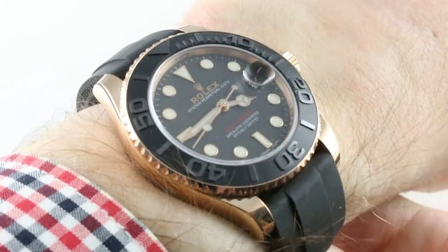 Rolex Yacht Master 37mm Mid Size (Sil...