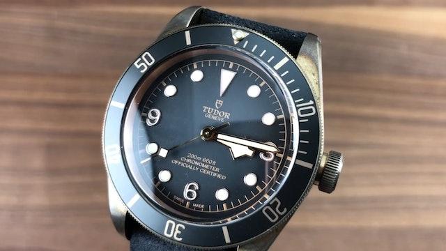 Tudor Black Bay Bronze 79250BA Review