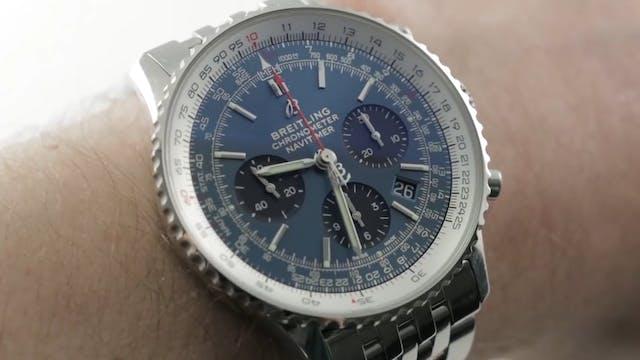 Breitling Navitimer 1 B01 Blue Dial (...