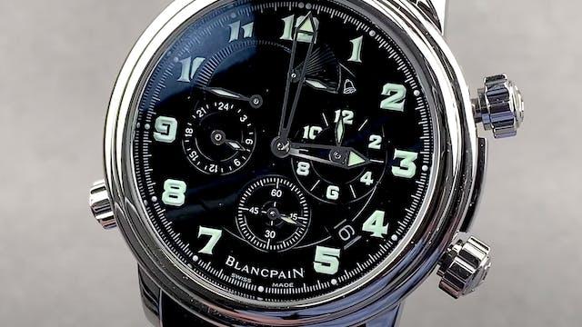 Blancpain Leman Revail GMT 2041-1130M...