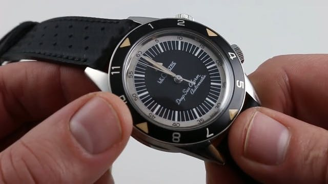 Jaeger Lecoultre Tribute To Deep Sea ...